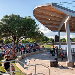 The Live at the Lake summer concert series at the Wichita Falls Museum of Art at Midwestern Stat
