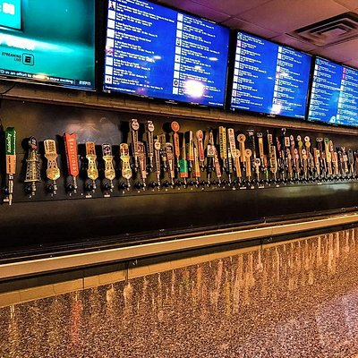More than 60 Texas craft beers on tap! 250+ wines to choose from!