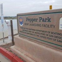 Pepper Park Sign