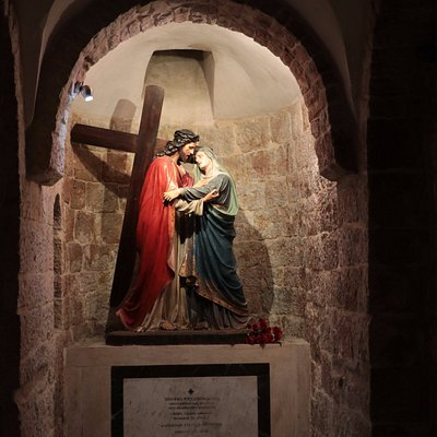 Church of Our Lady of the Spasm - Christ meets Mother Mary