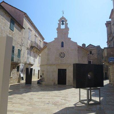 教会と広場