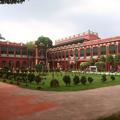 the main building