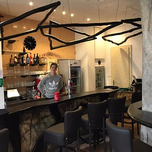 Bar's interior