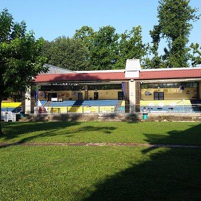 Il parco della piscina