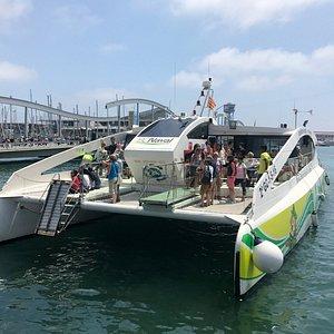 Eco Slim. El Catamarán Ecológico de pasaje más grande de Europa.