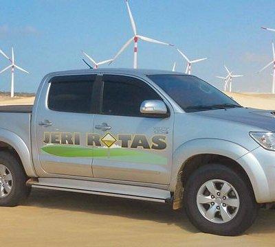 Chegue em Jericoacoara de forma segura e confortável com nossos serviços de transfer 4x4