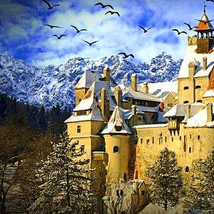 Dracula Castle in Bran