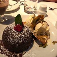 Chocolate LAVA cake!