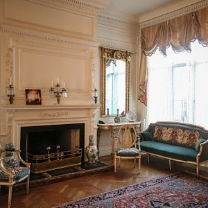The collections of furniture and decorative arts have been generously donated by Colonial Dames