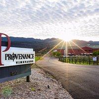 Entrance to Provenance Vineyards