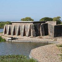 Sinah WWII Heavy Anti-Aircraft Gun Site, Hayling Island, Hampshire.