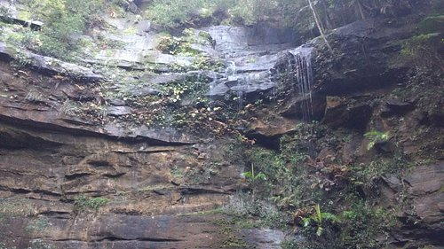 Gap creek falls. A beautiful ampitheatre.