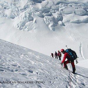 Huascaran Glacier