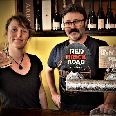 Hannah & Corey from the Ciderhouse Team