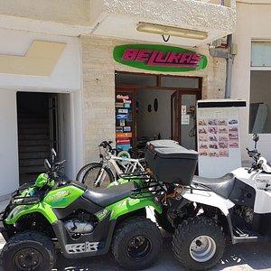 Belukas rentals main office