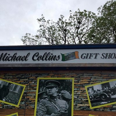 The Michael Collins Gift Shop Sign