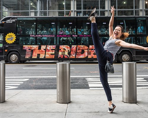 THE RIDE is an interactive entertainment experience where the streets of NYC are the stage!