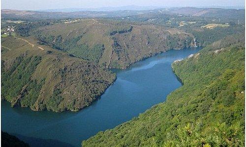 El Parque Nacional Fragas do Eume está a 15 kilómetros