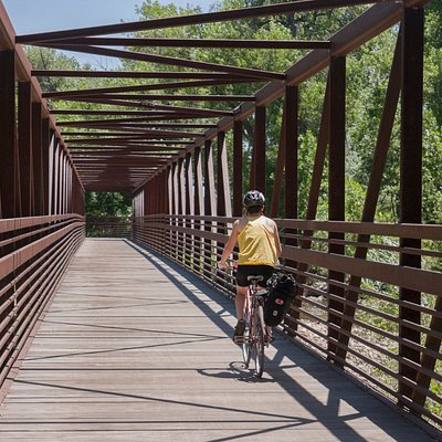The Poudre River Trail is a wonderful place to take ride a bike.
