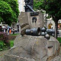 Ivan Pidkova monument