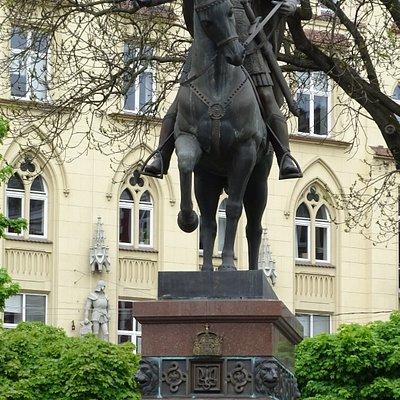 Daniel of Galicia monument