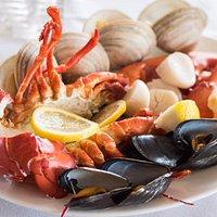 Klein's Seafood Dinner