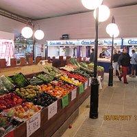 Fresh fruit and veg at the market