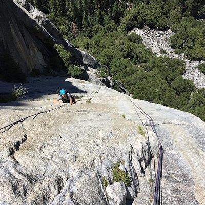 multi-pitch climb