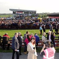 A view of the Parade Ring