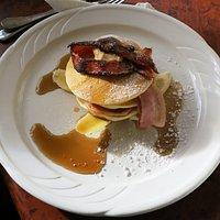 Pancakes & bacon etc