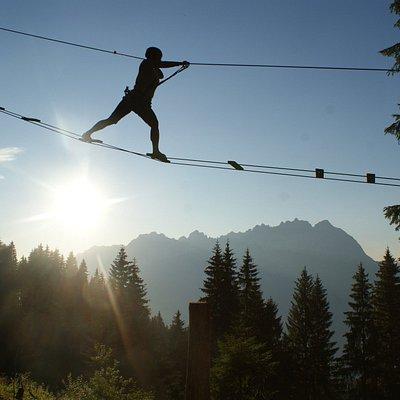 Hornpark Kletterwald - Für die ganze Familie