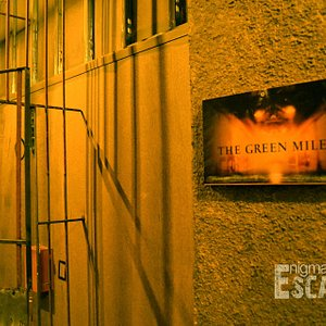 Green Mile Theme - Olympic Palace Escape Room