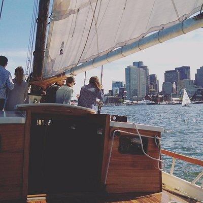 Boston harbor at its finest