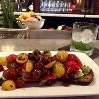 more like tomatoes than avocado toasts but delish nonetheless!
