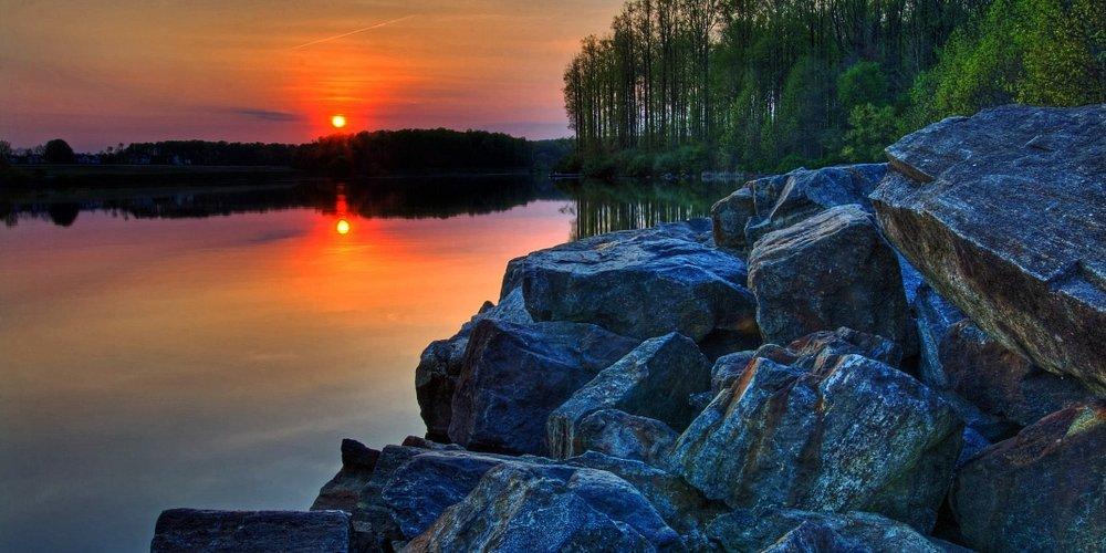 Chambers Lake at Hibernia County Park, Coatesville, PA