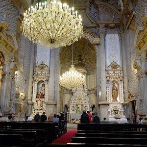 Inside the Igreja da misericordia.