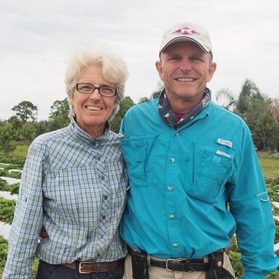 Carl and Diane, founders and developers of Kai-Kai Farm