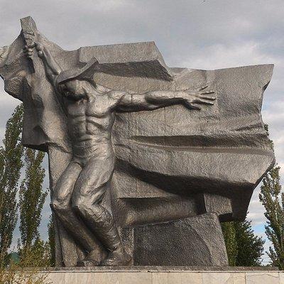 Братская могила борцов за власть Советов, Нефтекамск.