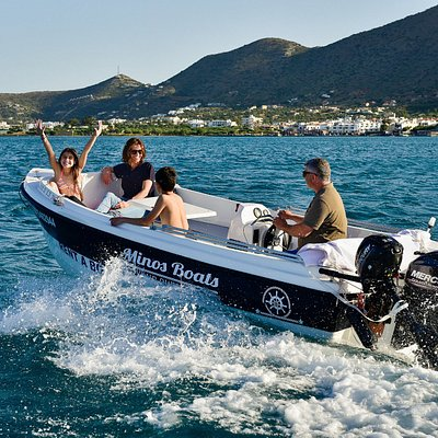 Fun for whole family with Minos Boats
