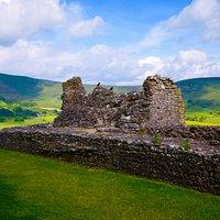 Castle walls.
