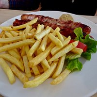 """The Bacon-Wrapped """"Berner Würstel"""" - Cheese Filled Sausage"""