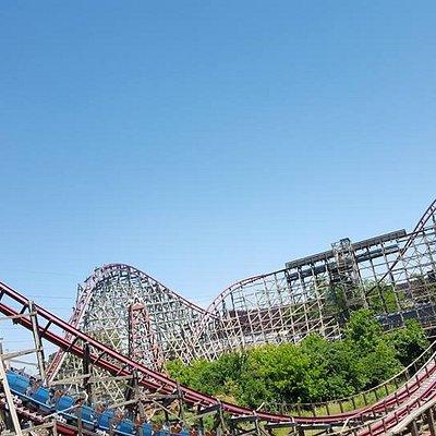 Roller coaster.