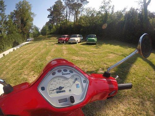 Fiat 500 and Vespa tours