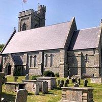 Fairlight Parish Church and tower.