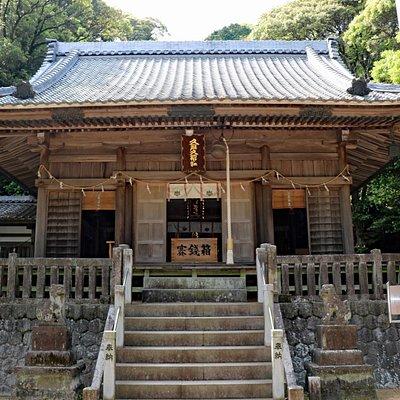 久麻久神社 拜殿