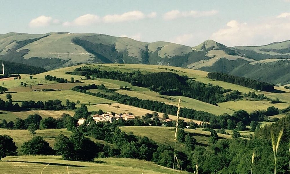 The enchanting Appenine Mountains ....