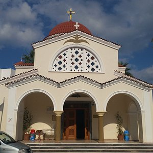 Entrance to Agios Konstandinou