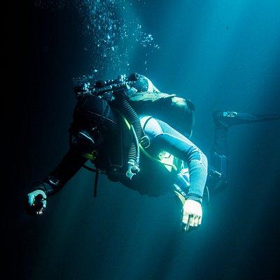 Underwater passion!