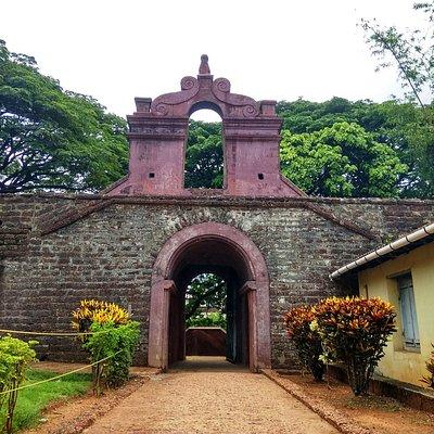 Thalassery fort, Kerala - Entrance
