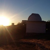 atardecer en el Observatorio de Villa Cielo